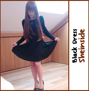blackdress sheinside