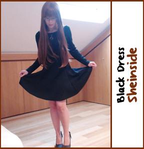 blackdress sheinside