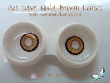 contact lenses brown