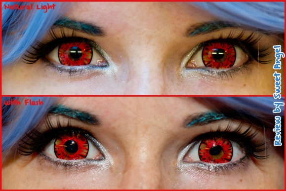 flash red lenses