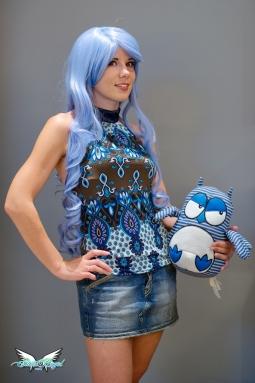 saxe blue wig
