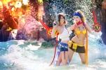Yuna rikku cosplay final fantasy