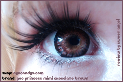 geo princess mimi chocolate brown
