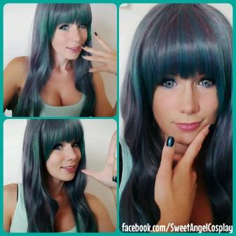 mixed wig