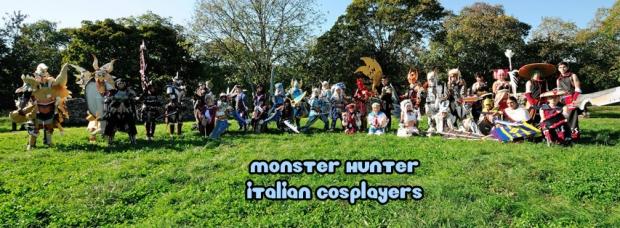 monster hunter italian cosplayers