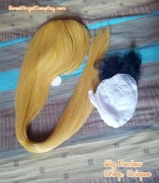 blonde wig uniqso