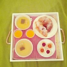 colazione in camera b&b