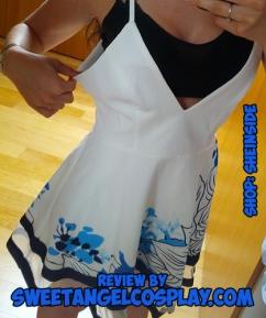 size sheinside dress