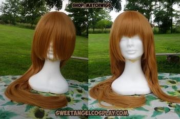 taglio frangia parrucca