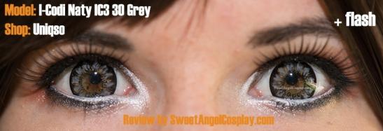 grey lenses flash