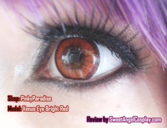 venus eye bright red
