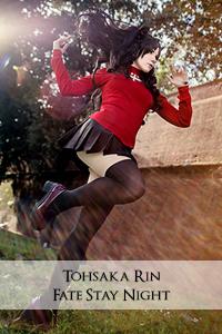 tohsaka cosplay